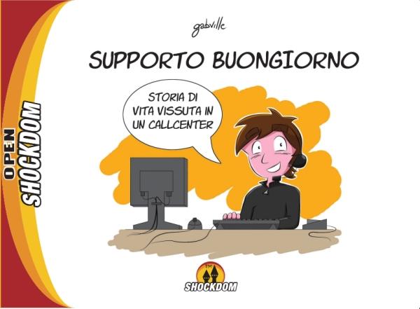 Comicsedintorni Open Shockdom 2 Supporto Buongiorno
