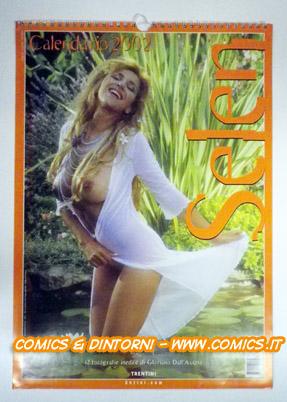 Selen Calendario.Comicsedintorni Calndario Selen 2002