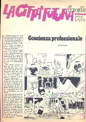 Comicsedintorni La Città Futura Fumetto